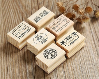 Crystal Schedule Stamp Set - Rubber Stamps - Diary Stamps