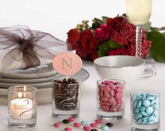Wedding Favor - Votive Holder - Votive Candle - Reception Decor - Votive Candle Holder - Favor Candle -  Lot of 10