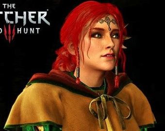 Triss Merigold Witcher 3 Cosplay wig