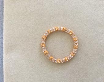 "7 & 1/2"" Crescent Moons Stretch Bracelet."