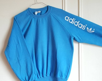 Sweatshirt Adidas Vintage years 80 Made in France size S like new Rare.