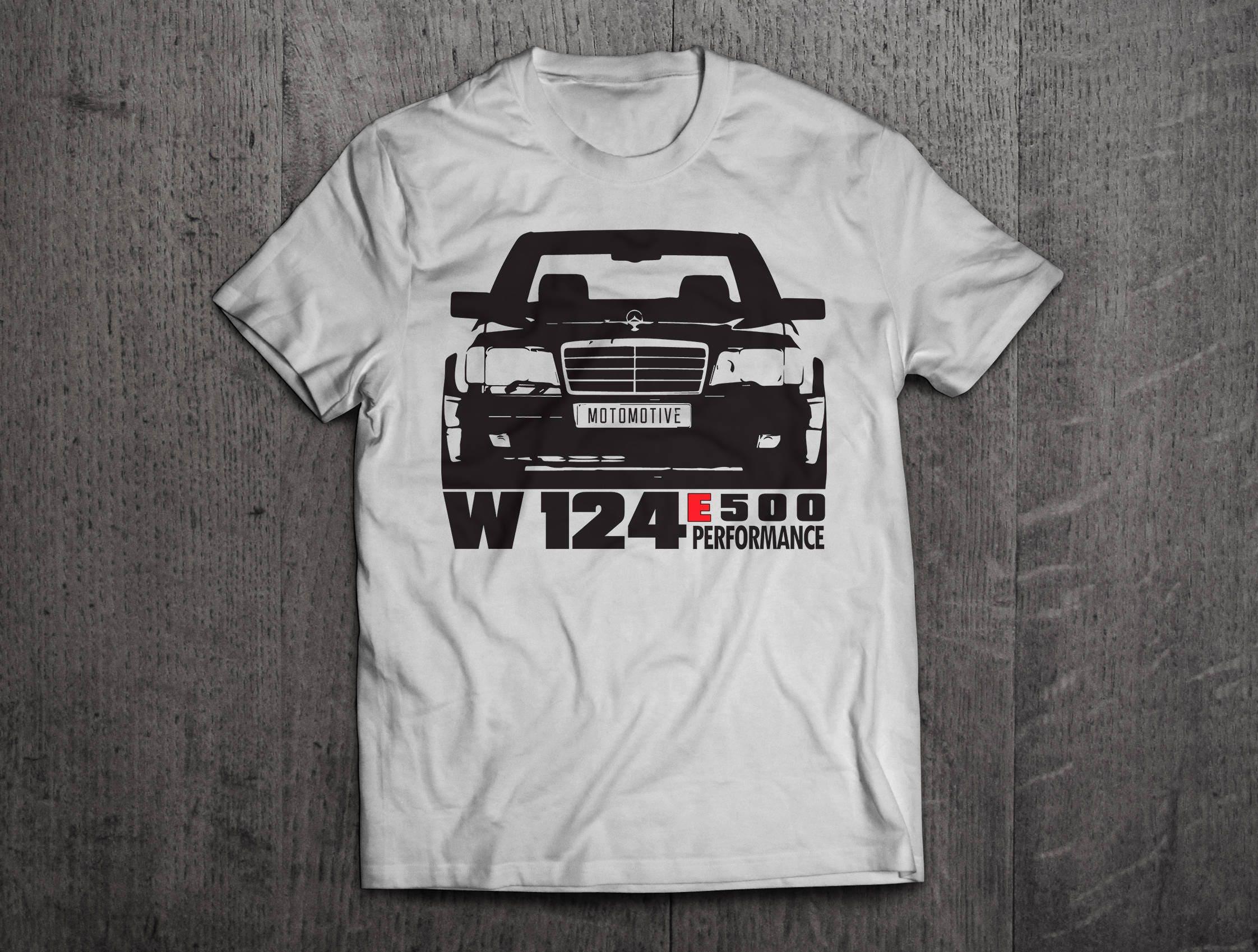 mercedes w 124 shirts mercdes t shirts benz shirts cars. Black Bedroom Furniture Sets. Home Design Ideas