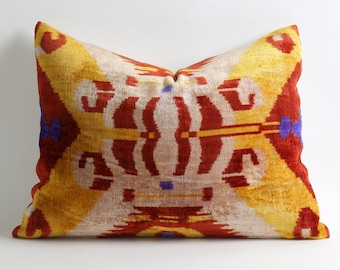 Ikat Pillow Case - Decorative Pillows For Couch Sofa Pillows Tribal Pillow Decorative Cushion Ethnic Pillow Cover