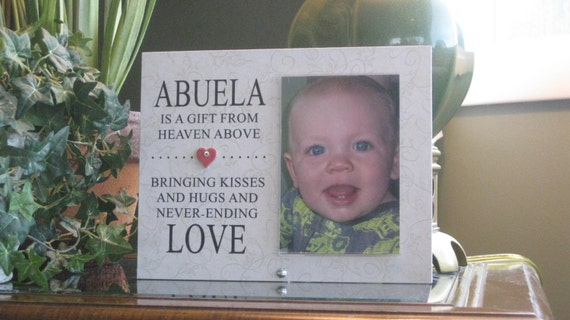 Abuela Frame (SELECT ANY GRANDMOTHER Name), Abuela Picture Frame ...
