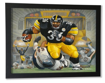 The Bus. A Tribute To Jerome Bettis Framed Giclée Print