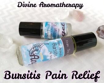 Divine Aromatherapy: Bursitis Pain Relief - Organic Essential Oils