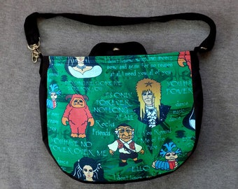 David and his Maze Friends Cross Body Purse Messenger Bag