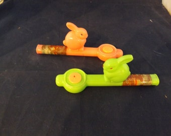 Two Easter Bunny Whistles Selling Separately