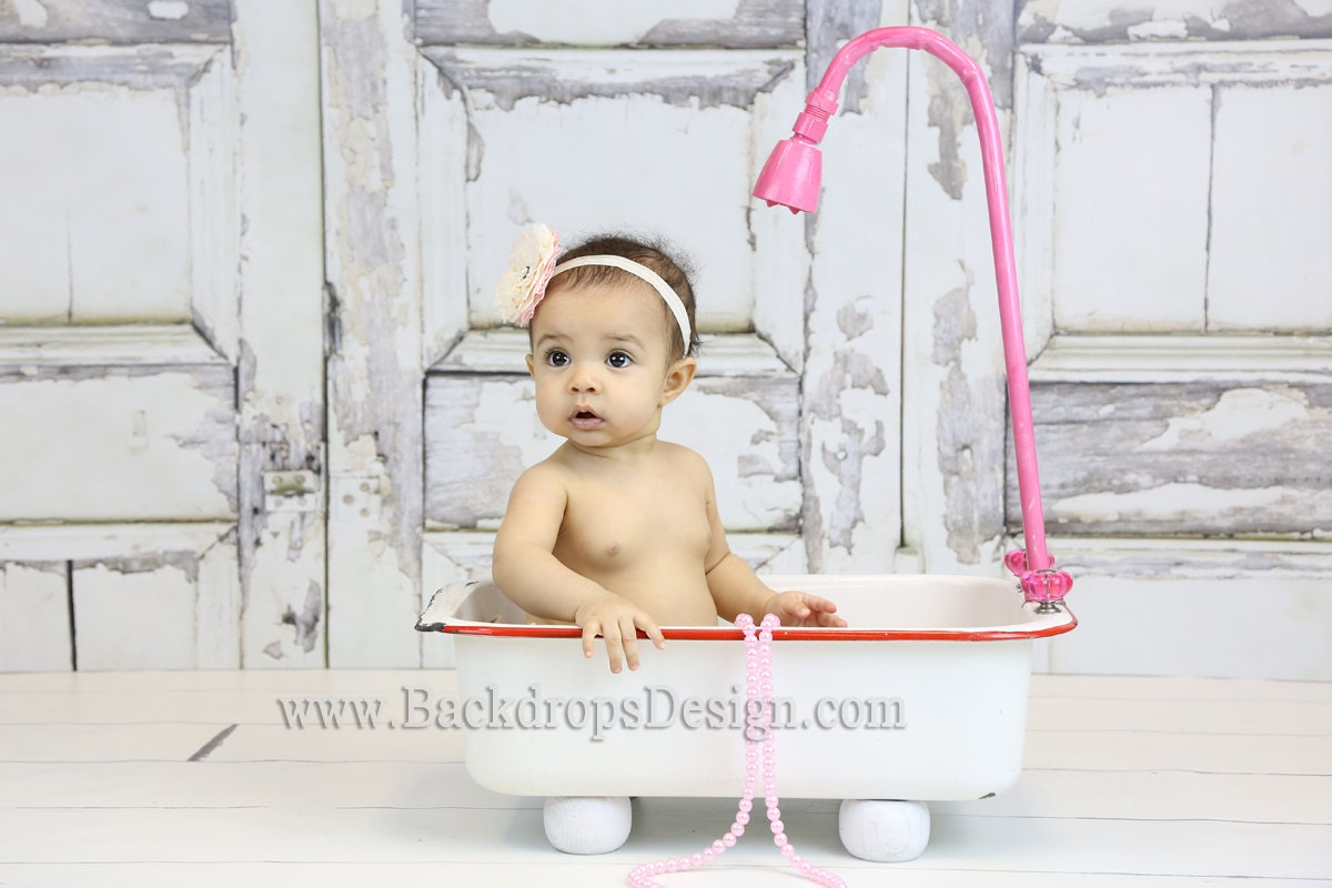 Baby Photography prop Bathtub newborn todlers baby girl boy