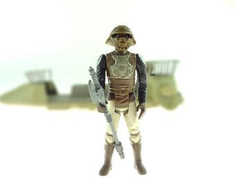 Lando Calrissian In Skiff Guard Outfit 1983 Star Wars Action Figure