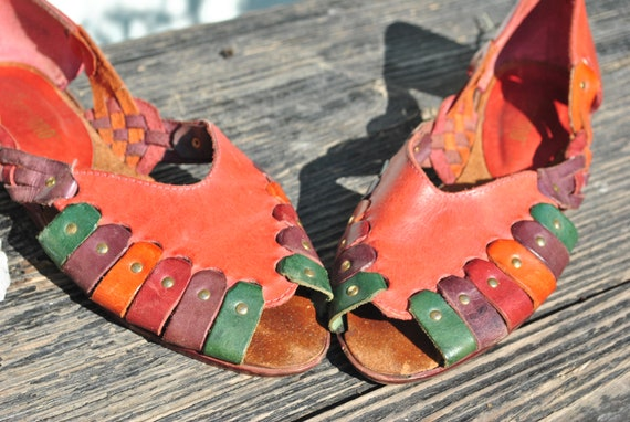 sandals woven leather sandals sandals Brazil sandals sandals sandals lather boho women woven Sandals leather UxdRHHg