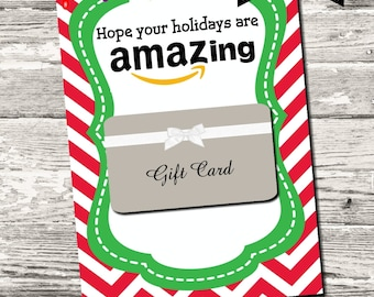 Christmas Hope Your Holidays Are Amazing Thank You Card Printable Digital INSTANT DOWNLOAD