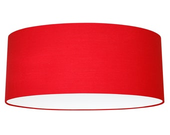 Items similar to lamp shade red graphics lampshade numbers lamp shade 50 cm red aloadofball Choice Image