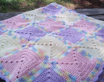 Granny square afghan Pattern