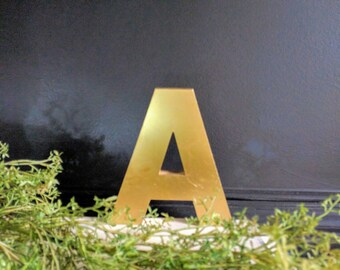 "Vintage Upper Case Letter ""A"", Wedding Decor, Industrial Salvage, Home Decor"