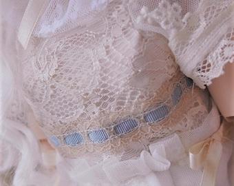 Tsukifly Vintage Line: Dollfie Dream Lace Dream dress set