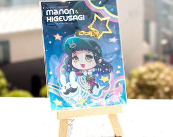 Original Acrylic Key Chain-MANON & Higeusagi