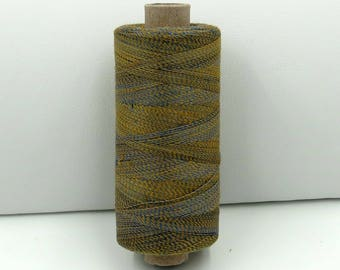 Valdani Unique Twist Overdyed Cotton-Polyester 40wt Thread: #T46 Sunny Clouds