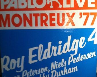 Roy Eldridge Montreux 77 Vinyl Jazz Record Album