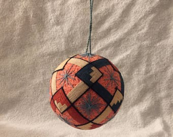 Japanese Temari Ball/ Hand-woven Ornament