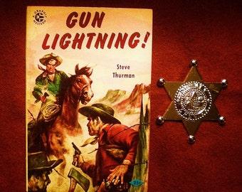 Gun Lightning: Steve Thurman (1955, A Graphic Western) Pulp Fiction