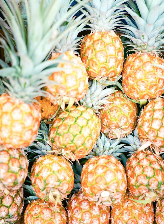 Farmers Market Pineapples