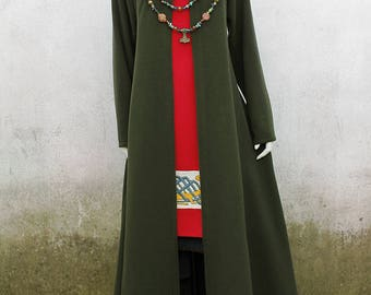Viking Woolen Coat - Historical Reconstruction