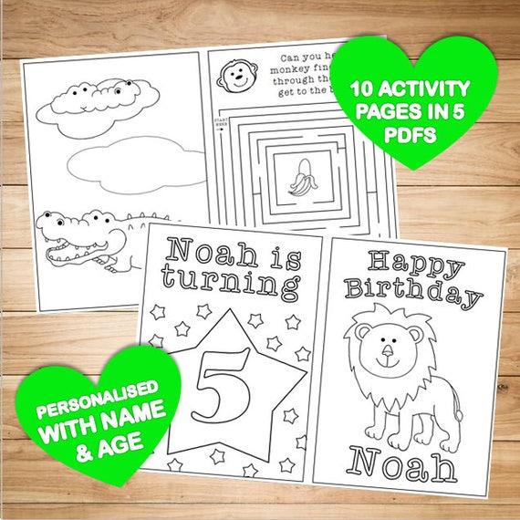 Individuelle Färbung / Färbung & Aktivität Buch Kinder /