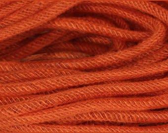 Orange Jute Flex Tubing RE366120, Orange Jute Tubing RE366120, Orange Deco Flex Tubing RE366120