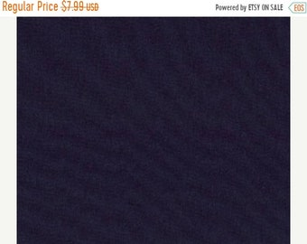 20% off thru Apr 24th By the yard--Moda Bella NAVY BLUE Solid cotton quilt fabric- 9900-20