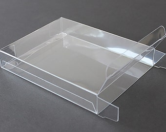 Clear greeting card bags and notecard sleeves packs of 100 a7 clear plastic greeting cards boxes set of 25 5 38 x 7 38 choice of 4 different depths m4hsunfo