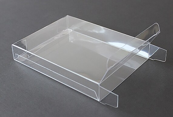 A7 clear plastic greeting cards boxes set of 25 5 38 like this item m4hsunfo Image collections