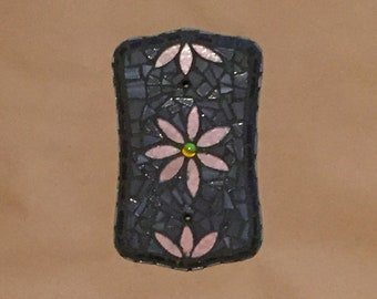 Mosaic Light Switch Blank Cover