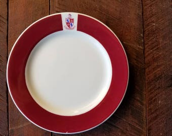 The Queensbury - and Iroquois China Plate