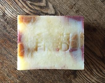 Ginger and lemongrass soap