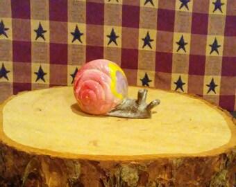 Fairy garden, Hobbit snails, Snails, fairy garden snails, gnome garden snails, crafts, terrariums, dollhouse miniatures, summer miniatures