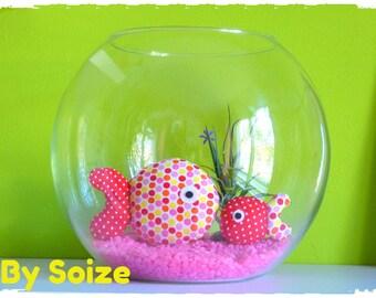 Decorative fish fabric