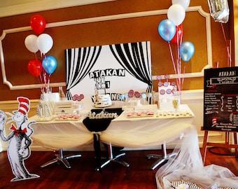 Dr Seus Themed Party
