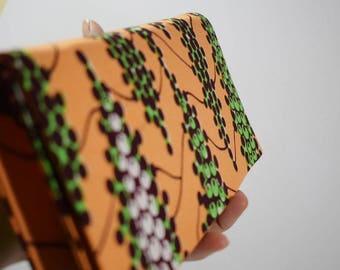 African print clutch bag, Evening bag, Bridesmaid gift