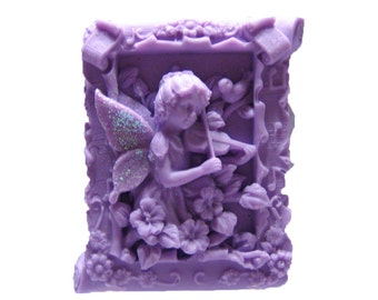 Fairy Soap -  Vegan Soaps -  Decorative Soap  -  Glycerin Soap -  Moisturizing Soap - Organic Soaps - Natural Soaps - Fragrance Oil Lilac