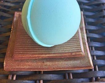 Crisp Pear Bath Bomb/ Mango Butter/ Goat's Milk/ Coconut Oil/ Handmade/ Arkansas Made