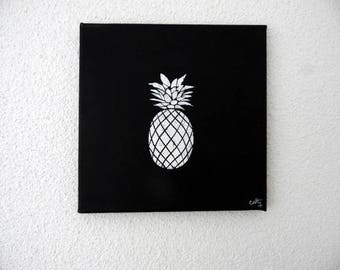 tableau of a pineapple and that's it!