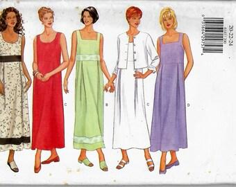 Butterick 6141     Misses/Petites Jacket and Dress     Size 20-22-24    Uncut