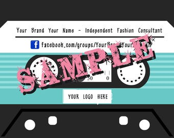 Digital File - Independent Fashion Consultant Business Cards
