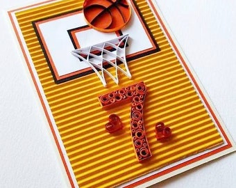 80th birthday card handmade birthday card floral 80th basketball birthday card happy birthday card basketball card card for him card bookmarktalkfo Image collections