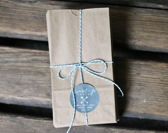 Mini Paper Bags - Kraft Brown Bags - Paper Lunch Bags