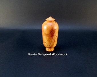 Box Lidded Container Olive wood hand turned wood