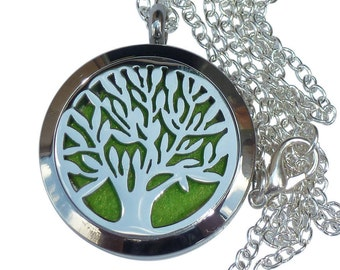 YOur perSOnal STYlish Essential oil necklace diffuser Steampunk tree d1 0