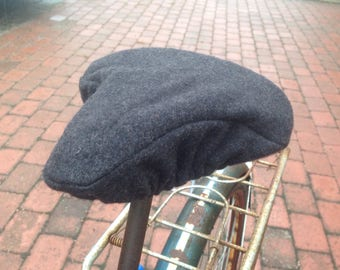 Bike seat cover // 100% recycled wool
