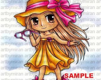 Digital Stamp - Sunshine Suzie (#297)